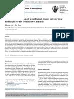 Antegrade Sublingual Gland