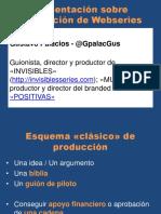 Producción Webseries Low Cost