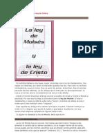 La Ley de Moises y La Ley de Cristo