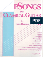 Pop Songs for Classical Guitar by Cees Hartog Vol 3