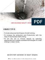 Mechanised Shaft Sinking