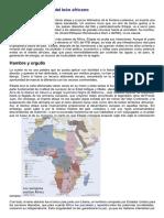 Etiopía y El Despertar Del León Africano El Orden Mundial en El S.xxi (1)