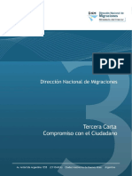 Cartilha Migraciones - Tercera Carta Compromiso DNM