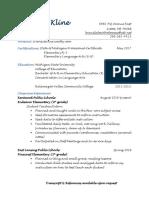 teaching resume  final