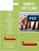 Diabetic Foot Clinic Brochure