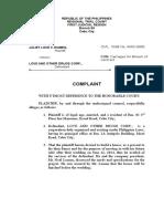 Complaint Letter Legal Logic