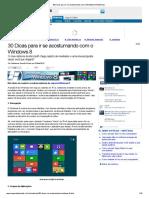 30 Dicas  Windows 8 (Matérias)