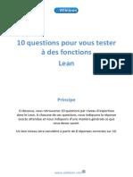 Questionnaire Lean