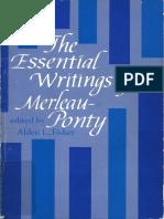 Merleau Ponty EssentialWritings