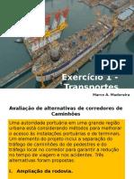 Aula 11 - Exercício - Avaliação de Alternativas(1)