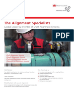 Machinery Service Alignment Specialists PruftechnikSEA2015