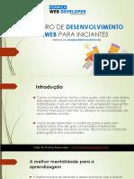Roteiro de Desenvolvimento Web Para Iniciantes - eBook