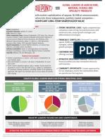 Dupont Fact Sheet
