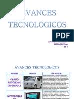 AVANCES TECNOLOGICOS