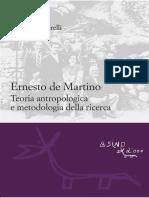 Ernesto de Martino Estratto
