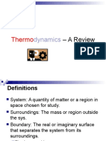 1 Lecture (a Thermodynamic Review)