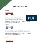 Tipos de Carros de Carga Ferroviaria