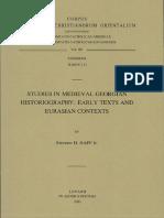 Studies in medieval Georgian historiography - S. H. RAPP.pdf