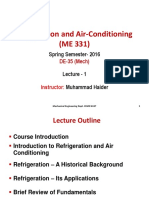 Lecture 1 - Introduction to Ref and Ac - 1st Week 2