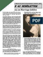 April 17 Jubilee Marriage