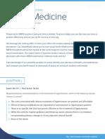 Sample questions - True learn family medicine
