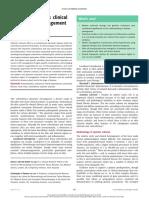 10. Esclerosis Sistemica, Presentaciones y Manejo