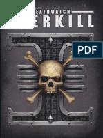 Deathwatch Overkill-Rule Book
