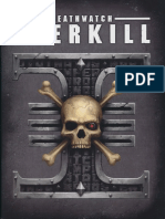 Deathwatch Overkill-Rule Book