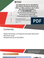 Presentación MEF Dra. Nelly Huamani