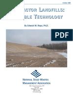 Research Bulletin Bioreactor Landfills