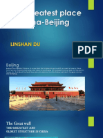 the greatest place in china-beijing