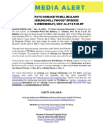 media alert unsunghollywood bill bellamy 11 15 16