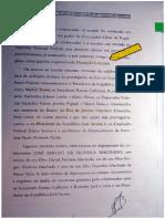DECLARACIONES DE EX EJECUTIVO