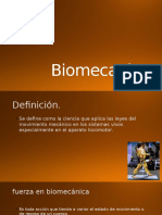 Biomecanic