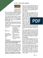 50W Hi-Fi Power Audio Amplifier TDA7294.pdf