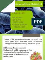 Bakteri Metanotrof Dan Metilotrof Ppt