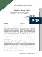Colombia. Reforma Electoral y Coherencia Ideologica (1)