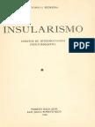Antonio S. Pedreira. Insularismo. Ensayos de interpretación puertorriqueña.