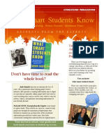 What Smart Students Know 2011 Edition