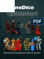 OneDice - Quickstart