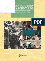 Politica Publica Archivo Ddhh