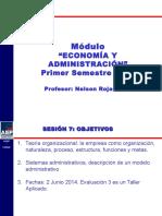 SESION 07 Economia y Administracion 2014