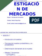 Sesion 07bis Investigacion de Mercados 2015 Exe