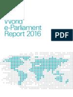 World e-Parliament Report 2016