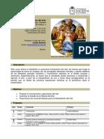 Programa Apreciación e Historia del Arte UNAL - 2017-1