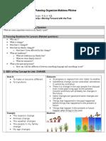 grade1 unit plan organizer
