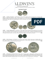 Baldwins Fixed Price List Summer 2014 - 01 - ANCIENT COINS