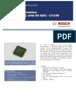 Circuito Conversor a-d Cy100 Bosch