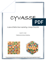 Cyvasse Rules Illustrated