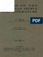 Papers on the Romanian People